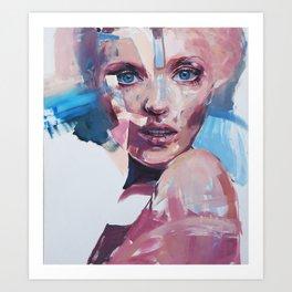 Cover Girl I Art Print