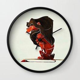 Lion 3 Wall Clock
