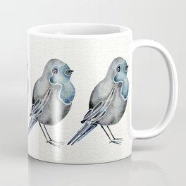 Little Blue Birds Coffee Mug