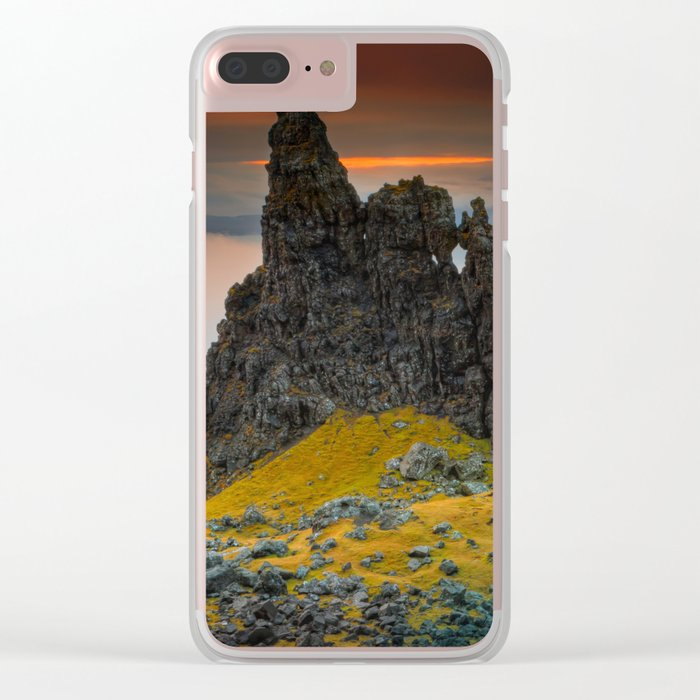 Rock I Clear iPhone Case
