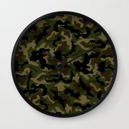Camouflage Art3 Wall Clock