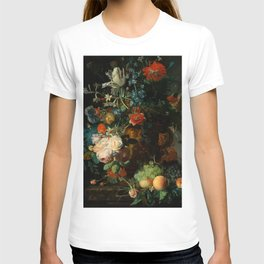 "Jan van Huysum ""Still life with flowers and fruits"" T-shirt"