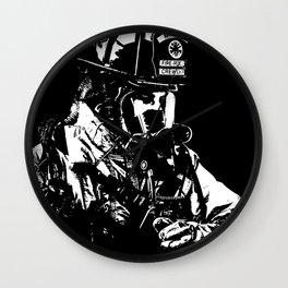 Firefighter Wall Clock