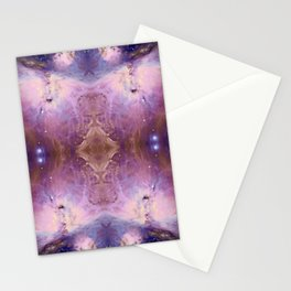 Purple Galaxy 003 Stationery Cards
