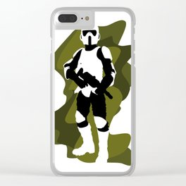 Scout Trooper Clear iPhone Case