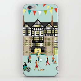 Art Print of Liberty of London Store - Daytime iPhone Skin