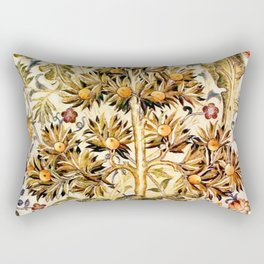 "William Morris ""Quince Tree"" Rectangular Pillow"