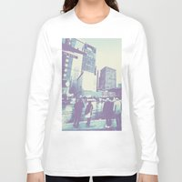 dallas Long Sleeve T-shirts featuring Main & Dallas  by bryantwashere