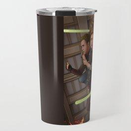 Fitzsimmons - Space Rollerblades Travel Mug