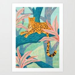 Soft Garden Art Print