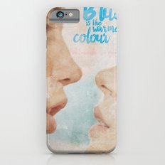 Blue is the warmest colour - chapter one - hand-painted movie poster - Slim Case iPhone 6s