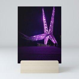 OKC Scissor tail Mini Art Print