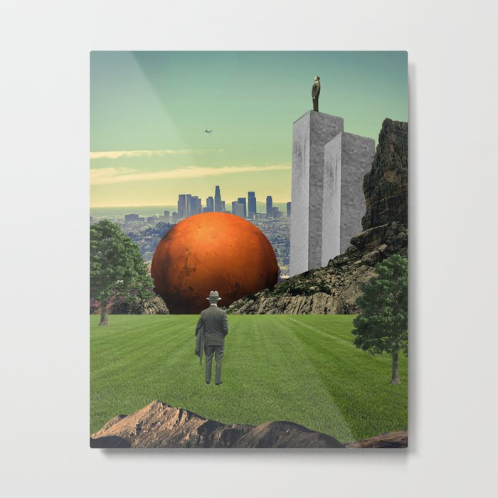 Lost Angles Metal Print