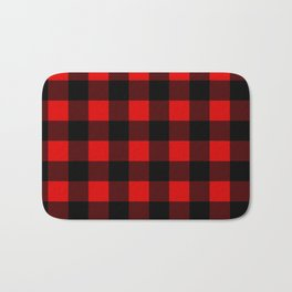 Plaid Bath Mat