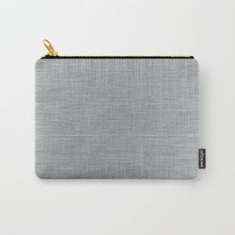 Pale Blue Minimal Hatching Home Goods Pattern Carry-All Pouch