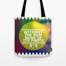 Sum and Parts Tote Bag
