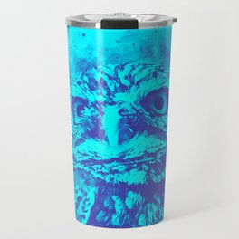 owl portrait 5 wsdb Travel Mug