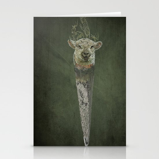lamb joint  Stationery Cards