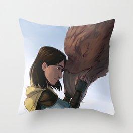 New Friends Throw Pillow