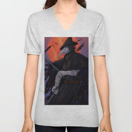 Leave the hunting of hunters to me Unisex V-Neck