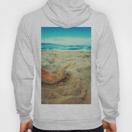 toe in the sand Hoody