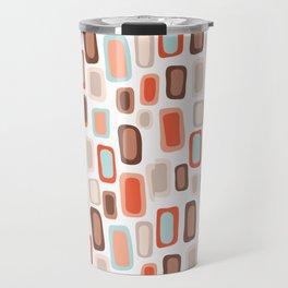 Retro Rectangles Travel Mug