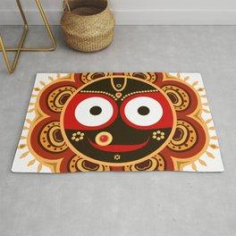 Lord Jagannatha. Rug