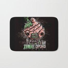 I Eat Zombie Cupcakes! Bath Mat