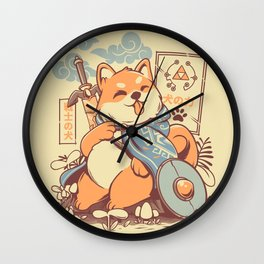 The legend of Dog Wall Clock