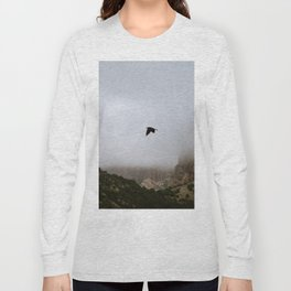 Free as a bird flying through the mountains, Big Bend - Landscape Photography Long Sleeve T-shirt