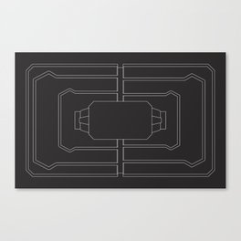 Welcome mat deployed Canvas Print