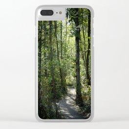 Shinrin-Yoku I Clear iPhone Case