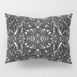 Piccadilly Circus Black & White Pillow Sham