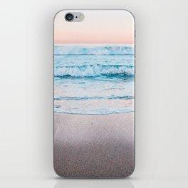 Ocean pastel Mood iPhone Skin