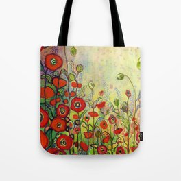 Memories of Grandmother's Garden Tote Bag