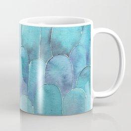 Ble abstract shapes Coffee Mug
