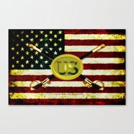 US CAVALREY - 020 Canvas Print