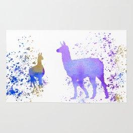 Llamas Rug