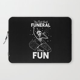 Funny Skeleton Laptop Sleeve