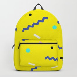 Memphis pattern 56 Backpack