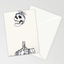 "Spooky Scary Skeleton 11""x17"" Stationery Cards"