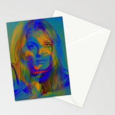 Sharon the blue mix Stationery Cards