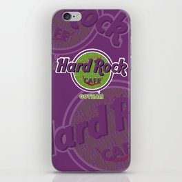 HARD ROCK CAFE GOTHAM iPhone Skin