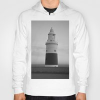 lighthouse Hoodies featuring Lighthouse by Simon Ede Photography