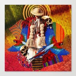 Vida y Muerte Canvas Print