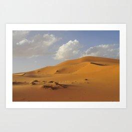 Sahara desert. Art Print
