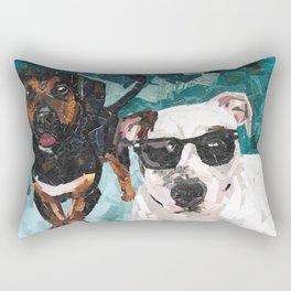 Pop Tart and Mulah Rectangular Pillow