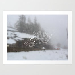Resolute Art Print