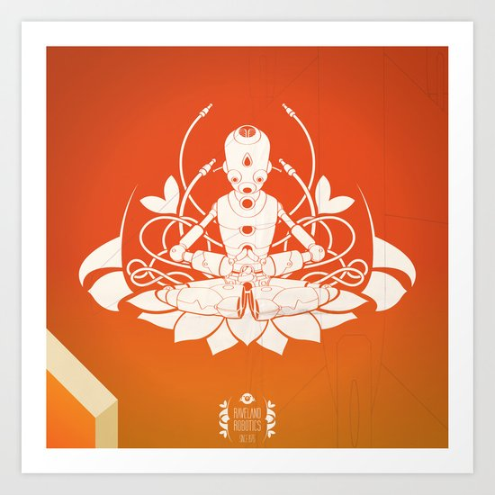 Opening the higher state of consciousness Art Print