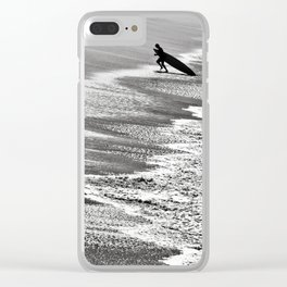 The Art Of Surfing In Hawaii 32 Clear iPhone Case